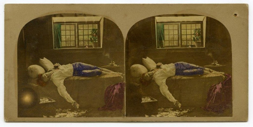 'The Death of Chatterton'. James Robinson. From the collection of Dr Brian May.