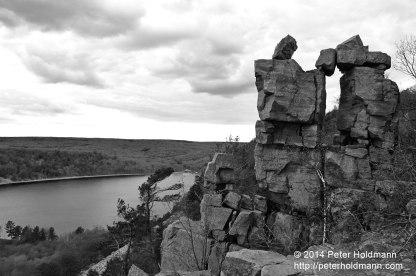 Devil's Doorway, Devil's Lake State Park, Wisconsin