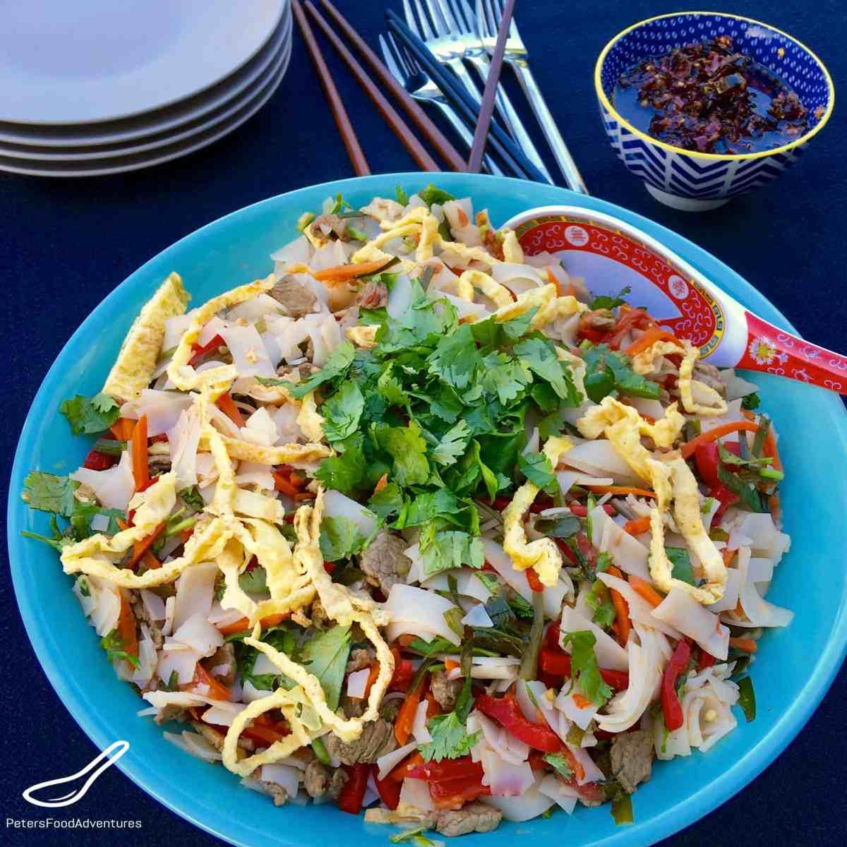 Ashlyamfu Salad (Ашлямфу)