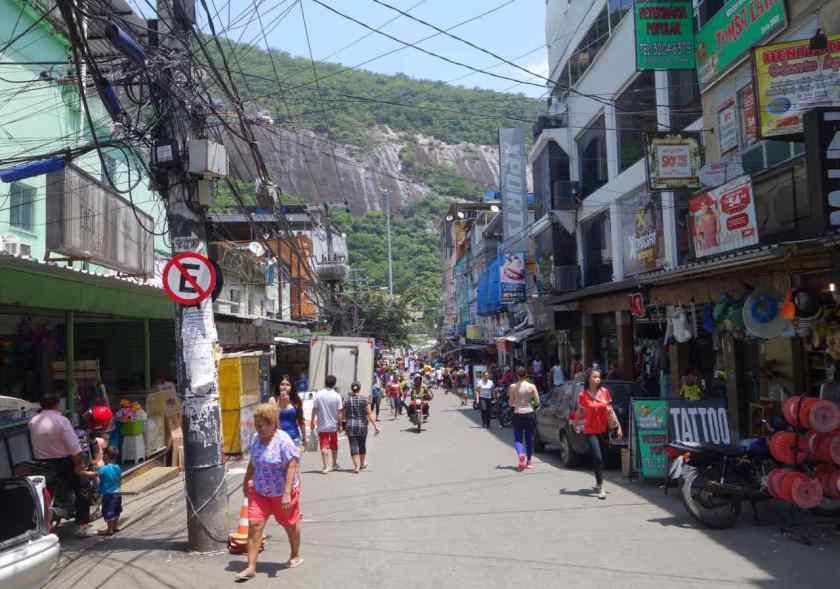 Favela Tour Rocinha, Straße