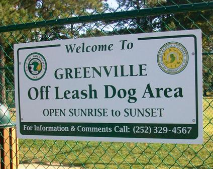 Greenville Off Leash Dog Park
