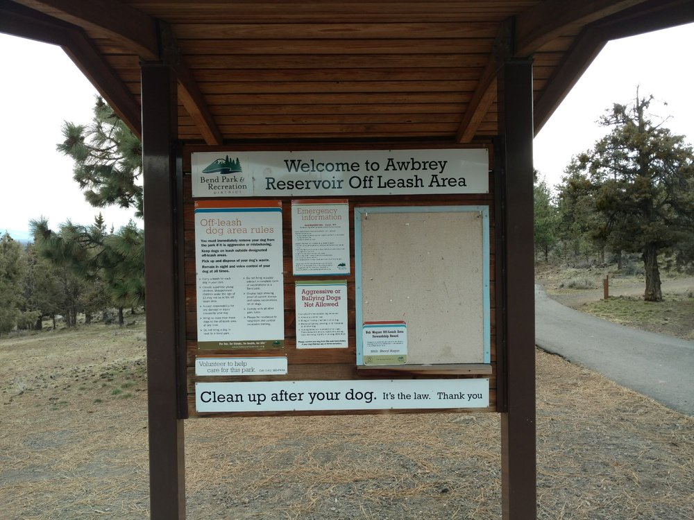 Awbrey Reservoir Off Leash Area