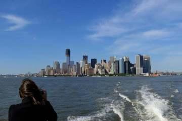 Les buildings de Manhattan. New York. Mai 2012.