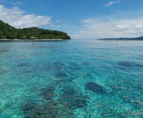 Raja Ampat, Kri Island. Sorido Bay Resort. Indonésie, juillet 2012.