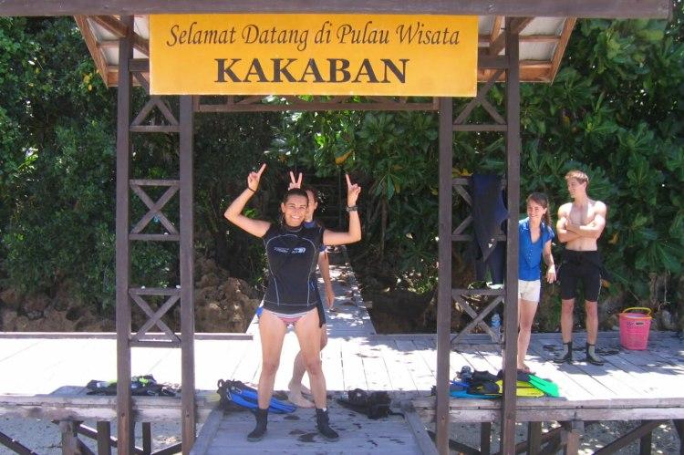 Kakaban en juillet 2009.