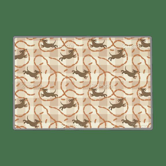 Custom Dog Bowl Placemats