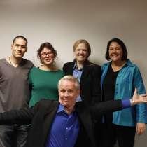 Petra Fisher, Andrew Cameron, Lori Ruff, Carol Smith, Mike O'Neil, The Dream Team in Denver. LinkedIn, LinkedIn Training, Graphic Design, Revenue Attraction