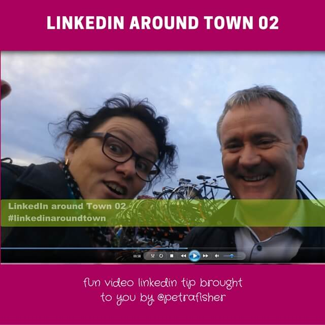 LinkedIn around Town: bikes and status updates