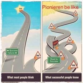 Pionieren be like…