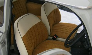 Right-hand drive Trabant 601 front seats