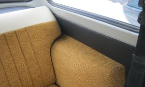 Right-hand drive Trabant 601 rear seat