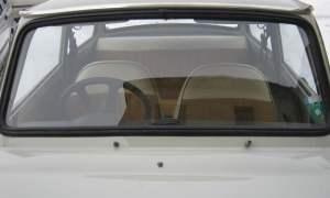 Right-hand drive Trabant 601 windscreen