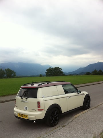 MINI Clubvan Camper arrives in Bavaria