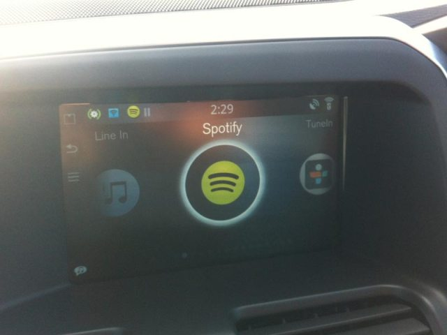Volvo XC60 Sensus Connected Touch Spotify