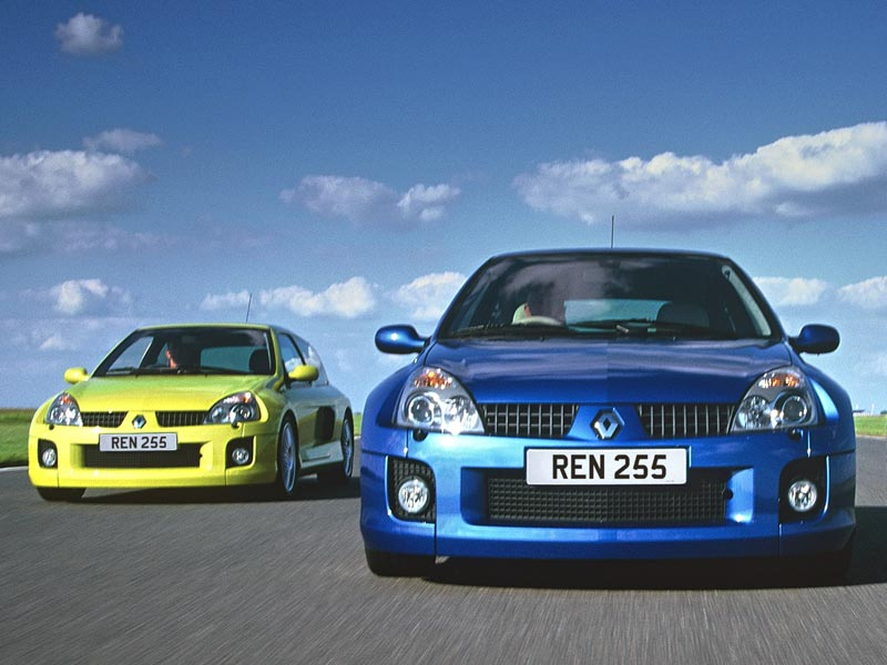 Rear-wheel drive Renaults - Clio V6