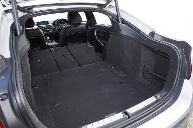 BMW 4 Series Gran Coupe boot space - PetrolBlog