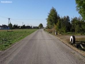 Droga w Męczeninie