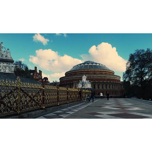 The temple. #RoyalAlbertHall #London