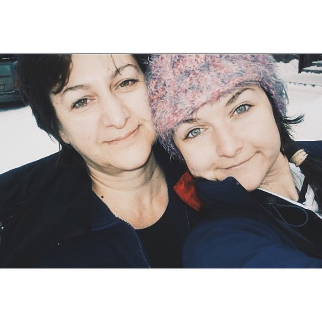 In a lot of places in the world it was mother's day yesterday. Including Austria, where I currently am. So here's to @krassyraykovska, my mom, and teacher, and role model, and friend.