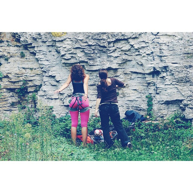Pleven. Forever ago :) Ace pink tights, Ace. #throwback #Pleven #Bulgaria #Climbing