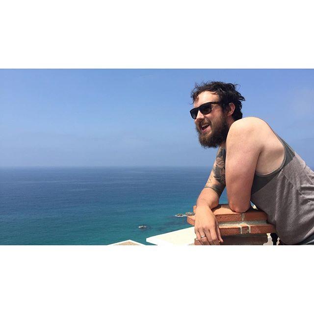@scottbasgaard & infinity in the horizon #hmretreat #hmgoes #spain