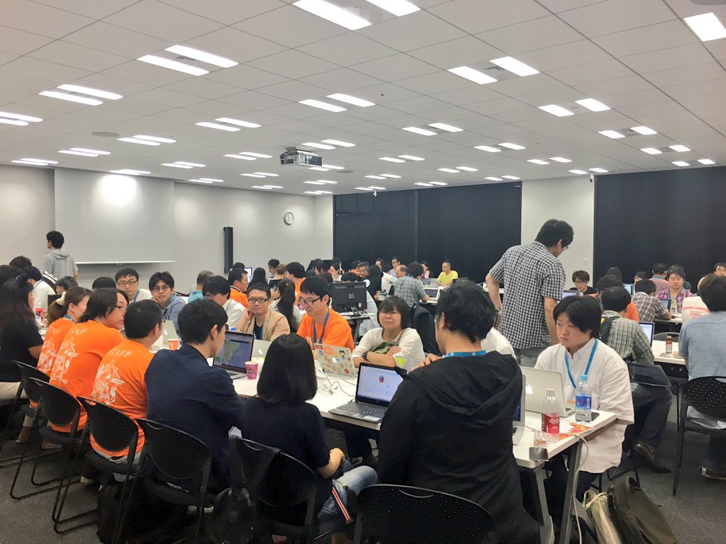 Full house for #WCTokyo contributor…