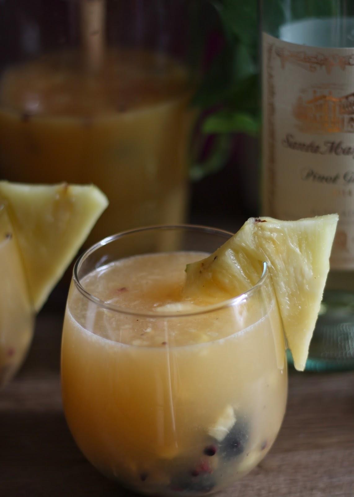 Pineapple Sangria