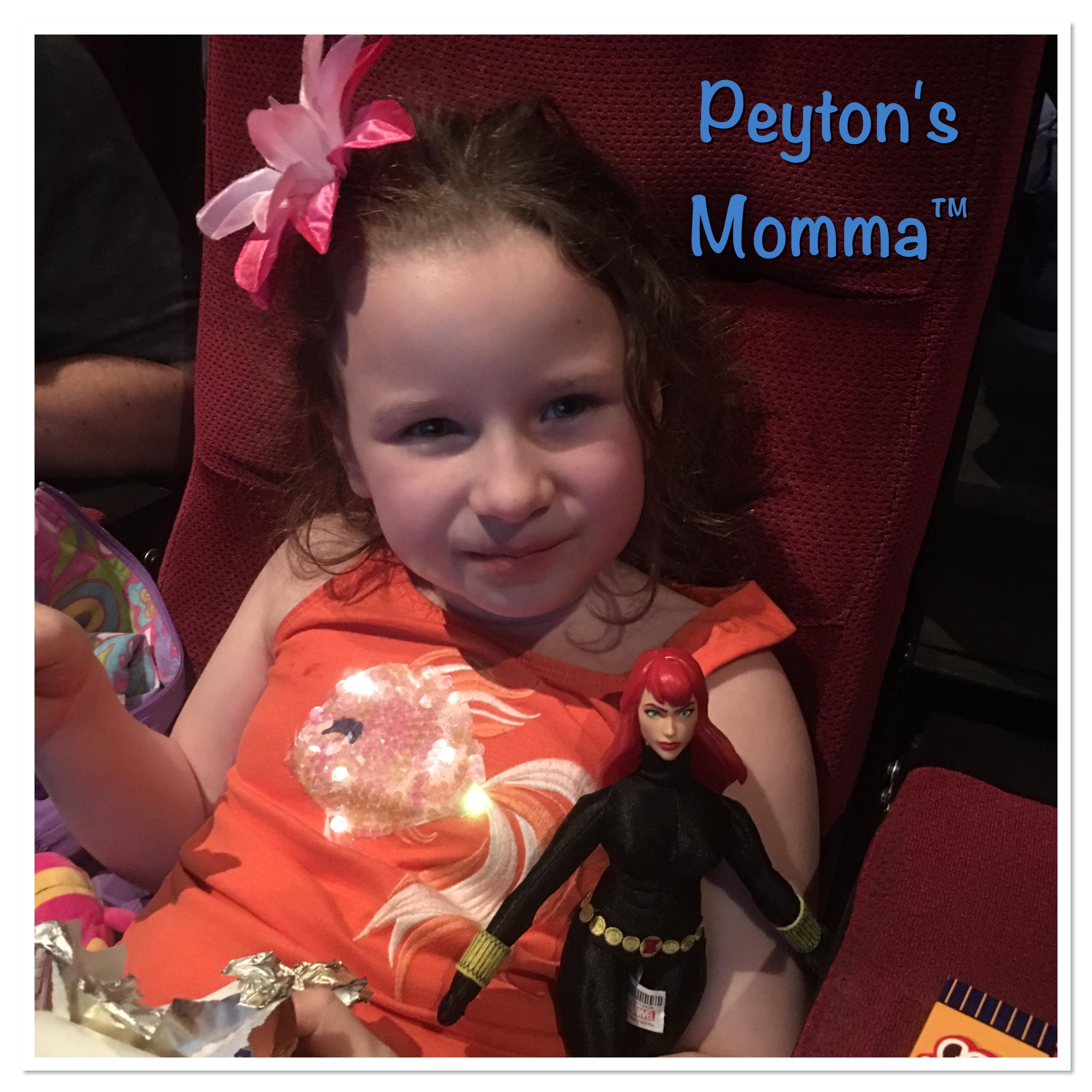 Peyton's Momma at Captain America Civil War