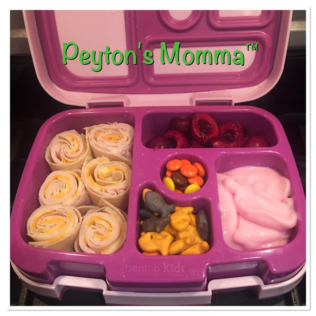 Turkey and Cheese PinWheel Bento Box