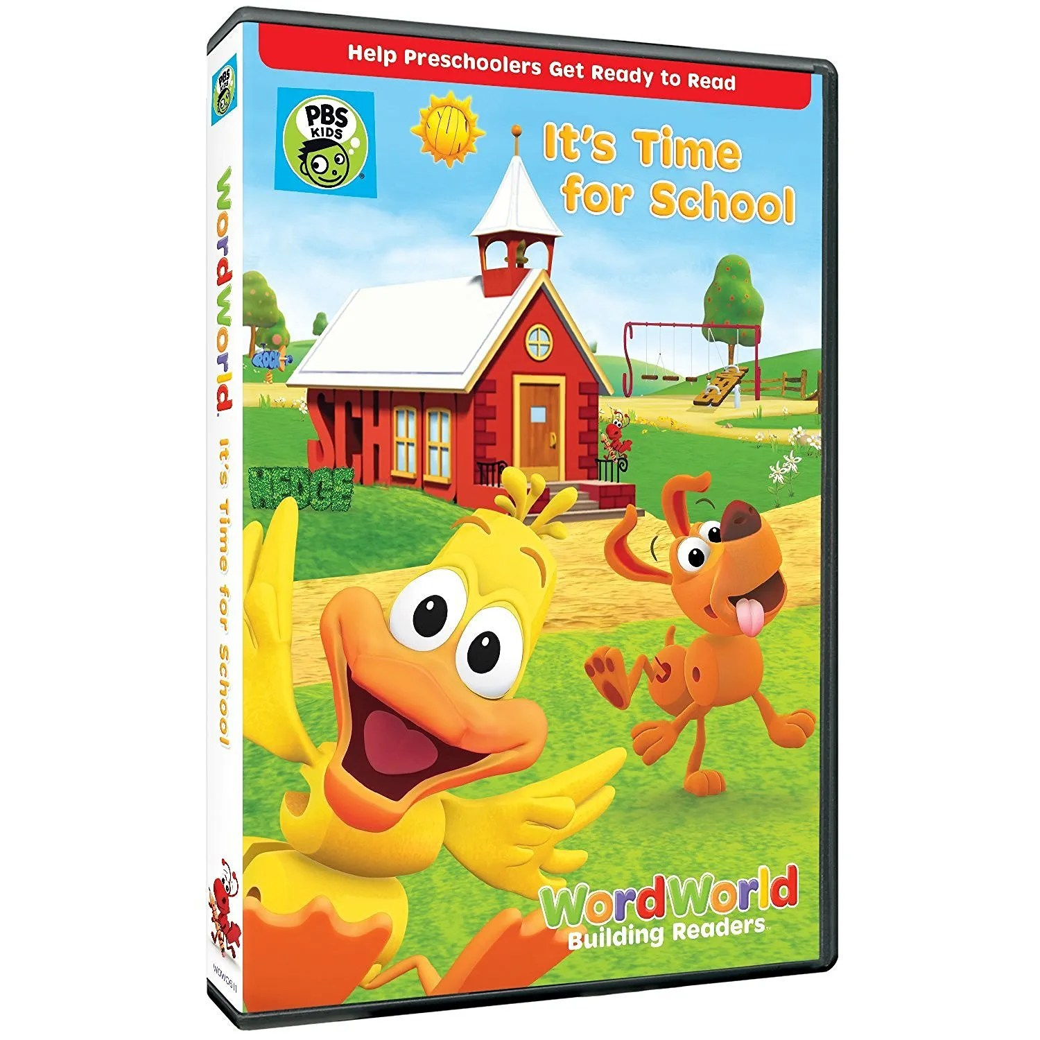 Word World Time for School DVD