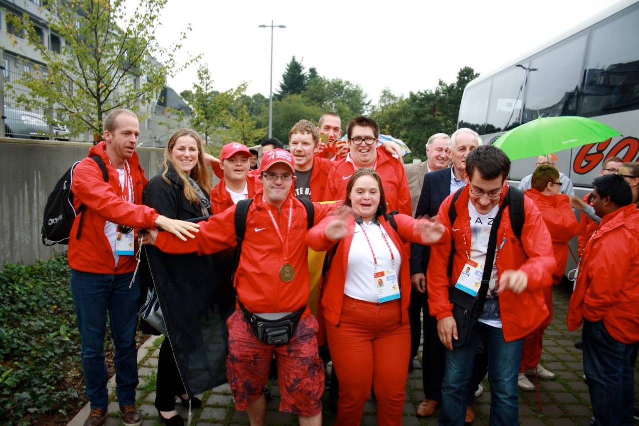 Gold bei den Special Olympics