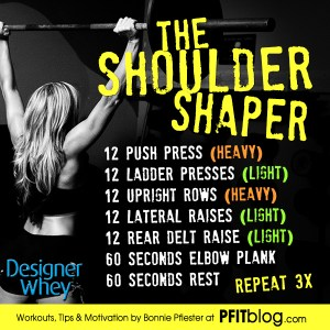The Shoulder Shaper