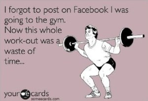 facebook gym post