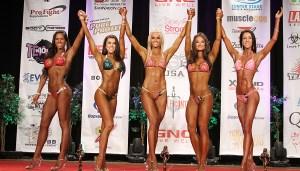 NPC Bikini Winners