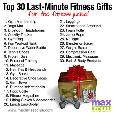 30 Last Minute Fitness Gifts