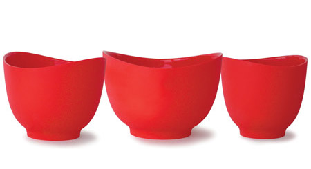 Flex-It Mixing Bowls are a good gift idea for foodies.