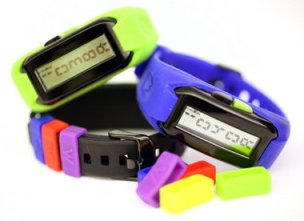 MOVbands are a pediometer and great Christmas gift idea.