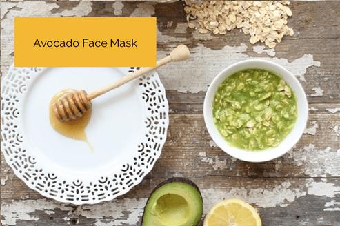 avocado face scrub