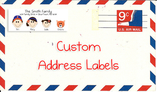 Custom Label GIVEAWAY!