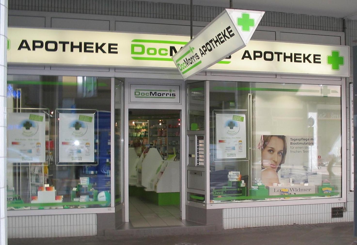 "Versandapotheke ""DocMorris"" in Saarbrücken, Kaiserstraße"