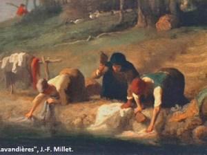 Lavandieres J-F Millet