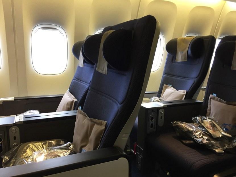 World Traveller Plus British Airways seats together