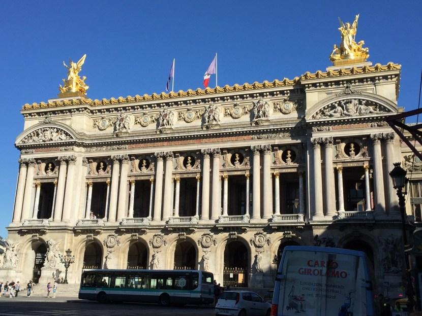 The Paris Opera exterior