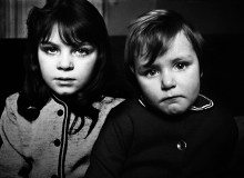 GB. ENGLAND. This brother and sister reacted to being photographed in a way that reveals the inherently different levels of self-esteem observable in children. She was alive with the solipsism of youth, while he was still uncertain. 1961