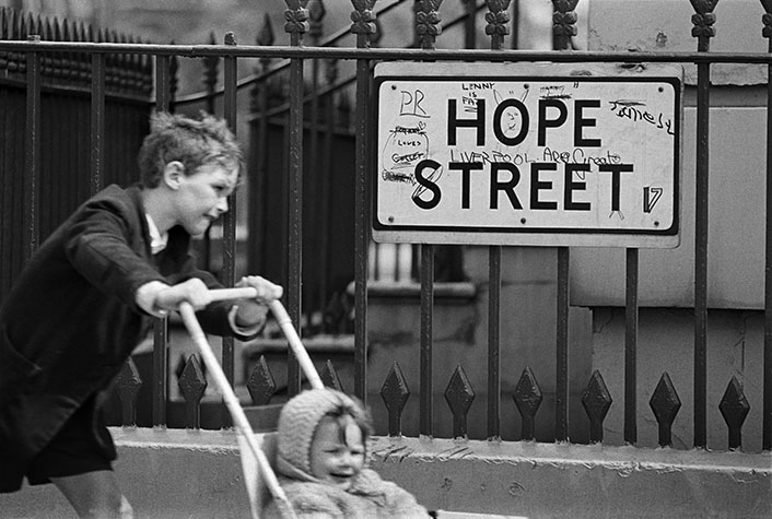 G.B. ENGLAND. Liverpool. Street signs. 1966.