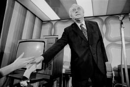 G.B. ENGLAND. Prime Minister Harold Wilson. 1974