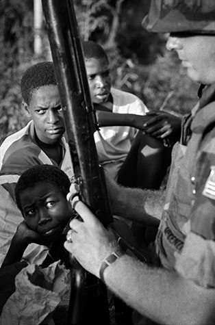GRENADA. When 6,000 elite troops of the Americans armed forces invaded Grenada in 1983, they managed overcome the token resistance put up by the handful of defenders. Nevertheless, they won 8,700 medals for their valour, and President Reagan declared that America was again