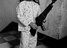 VIETNAM. South Vietnam.  Child with toy gun. 1967