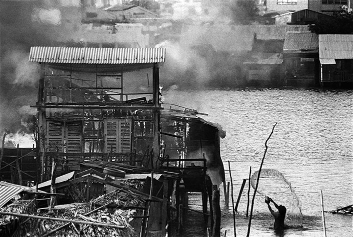 VIETNAM. The battle for Saigon. 1968