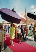 CAMBODIA. 1967. Jacqueline KENNEDY